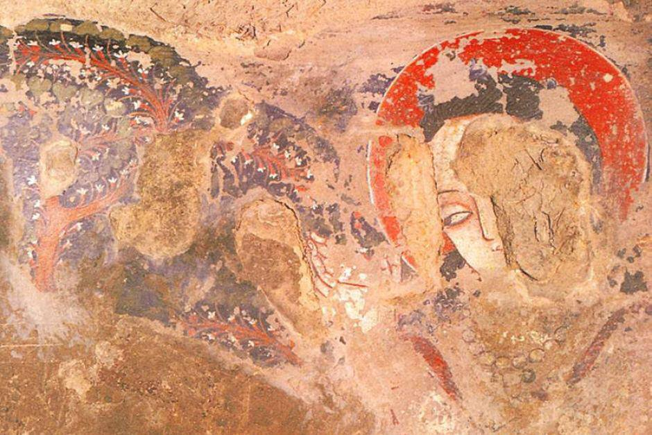Buddhist Bamiyan caves | 10 Oldest Pieces of Art Ever Discovered | ZestRadar