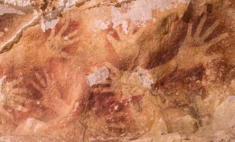 vSulawesi Caves of Indonesia | 10 Oldest Pieces of Art Ever Discovered | ZestRadar