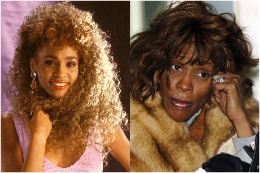 Whitney Houston | 7 Celebrities Who Couldn't Handle Their Fame | Zestradar