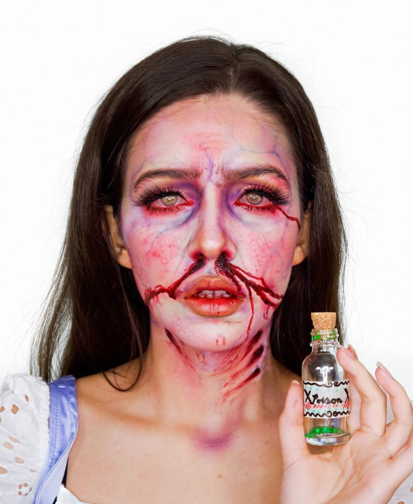 Poisoned Juliet | A 16-Year-Old Artist Takes Makeup To A Whole New Level Of Awesomeness | ZestRadar