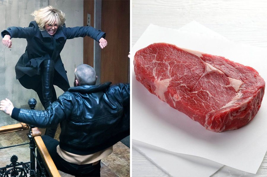 Fighting – Meat | 8 Startling Facts About How Sound Effects In Movies Are Made | ZestRadar