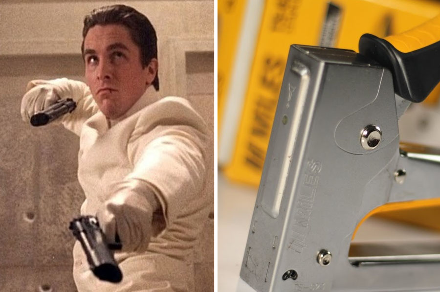 Gunshots – Stapler | 8 Startling Facts About How Sound Effects In Movies Are Made | ZestRadar
