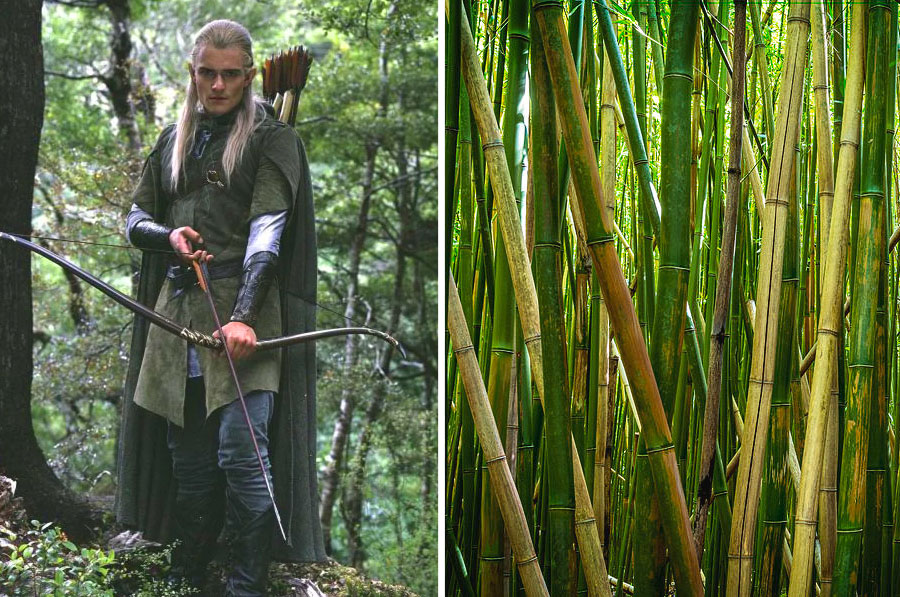 Arrows – Bamboo sticks | 8 Startling Facts About How Sound Effects In Movies Are Made | ZestRadar