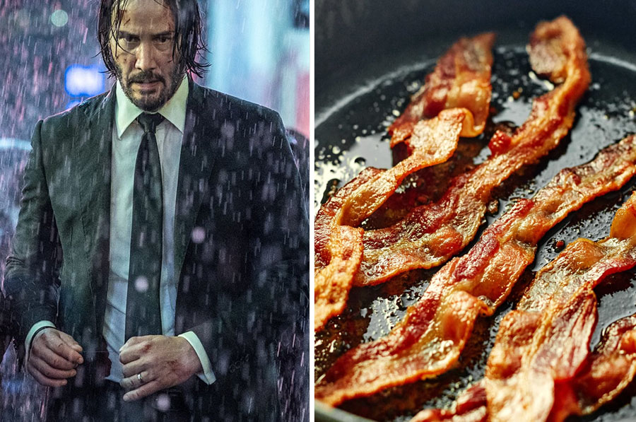 Rain Sound – Frying Bacon | 8 Startling Facts About How Sound Effects In Movies Are Made | ZestRadar