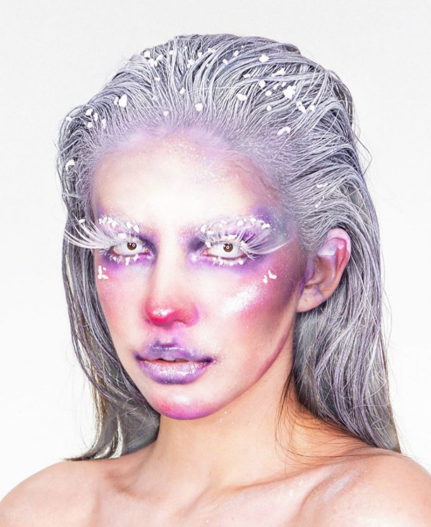 Ice Queen | A 16-Year-Old Artist Takes Makeup To A Whole New Level Of Awesomeness | ZestRadar