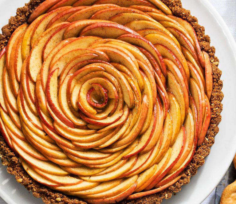 Apple Blossom Tart  | Top 10 Thanksgiving Foods That Should Be On Your Table This Year | Zestradar