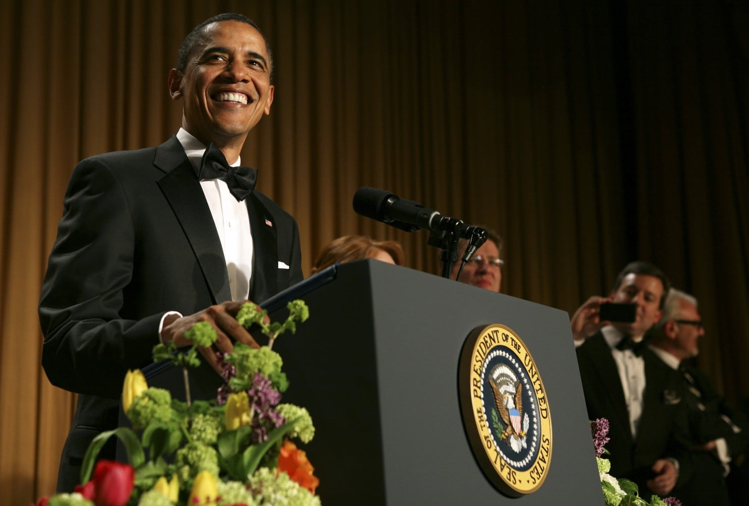 Barack Obama | 7 Famous People Who Were Willing To Laugh at Themselves | BrainBerries