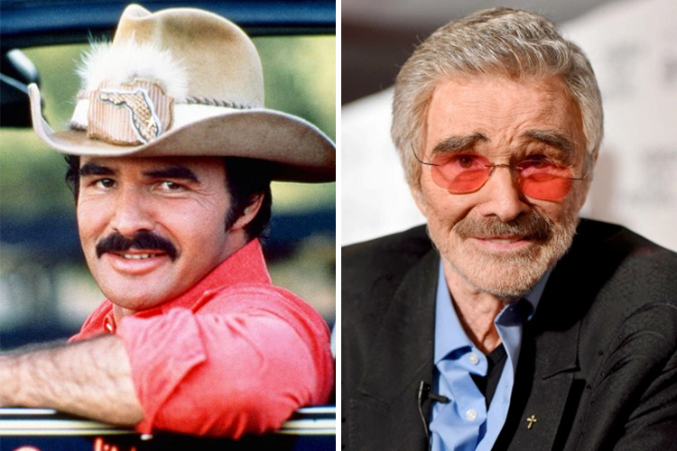 Burt Reynolds | Top 8 Male Movie Icons of the 70s | Brain Berries