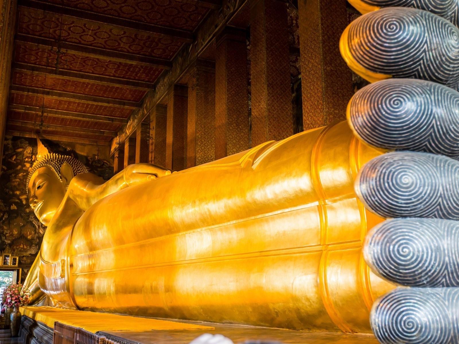Chùa Phật Nằm | 7 kỳ quan kiến trúc độc đáo bậc nhất của Thái Lan | Brain Berries