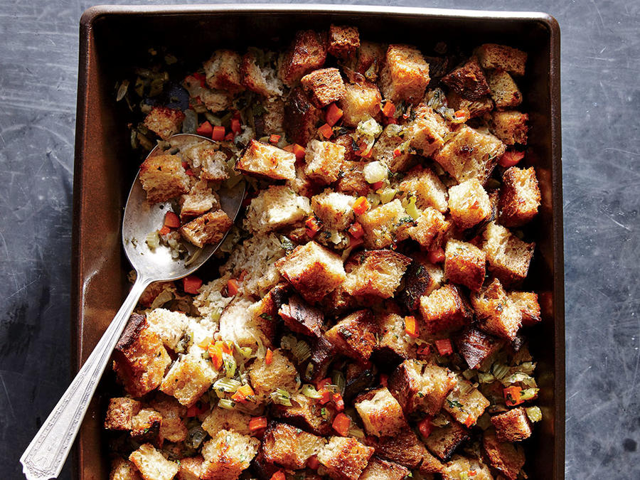 Classic Herb Stuffing | Top 10 Thanksgiving Foods That Should Be On Your Table This Year | Zestradar