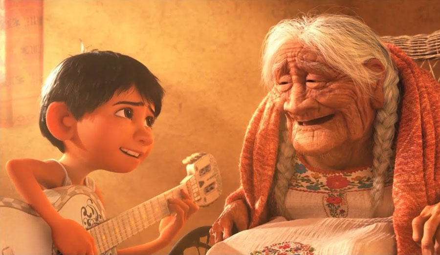 Coco – Miguel Playing 'Remember Me' | 10 Most Tear-Jerking Movie Scenes Ever Created | ZestRadar