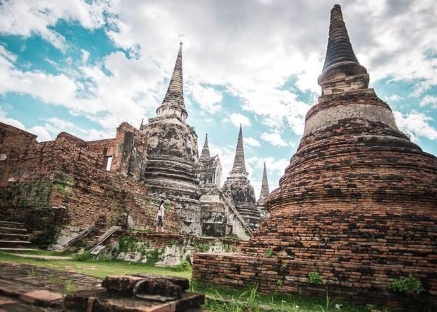 Công viên lịch sử Ayutthaya | 7 kỳ quan kiến trúc độc đáo bậc nhất của Thái Lan | Brain Berries