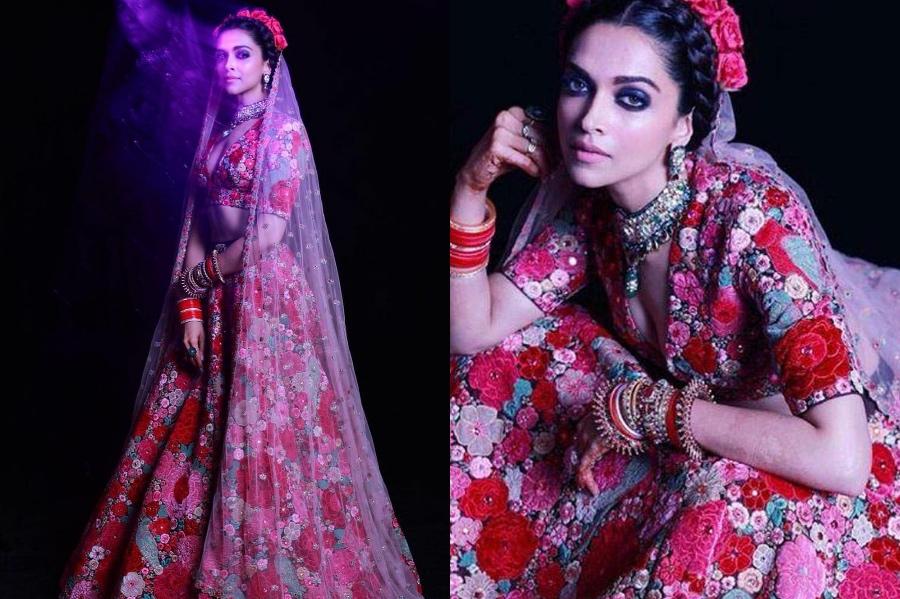 Sari by Sabyasachi Mukherjee | Deepika Padukone's Most Memorable Looks | Brain Berries