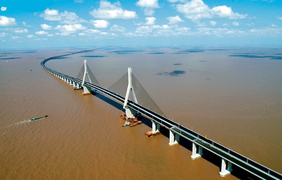Donghai Bridge, China | 10 World's Most Expensive Bridges | Zestradar