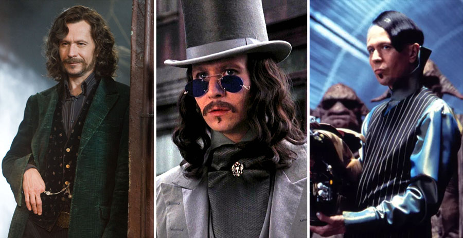 Gary Oldman | 8 British Actors We Are Ready To Drop Everything For | Brain Berries