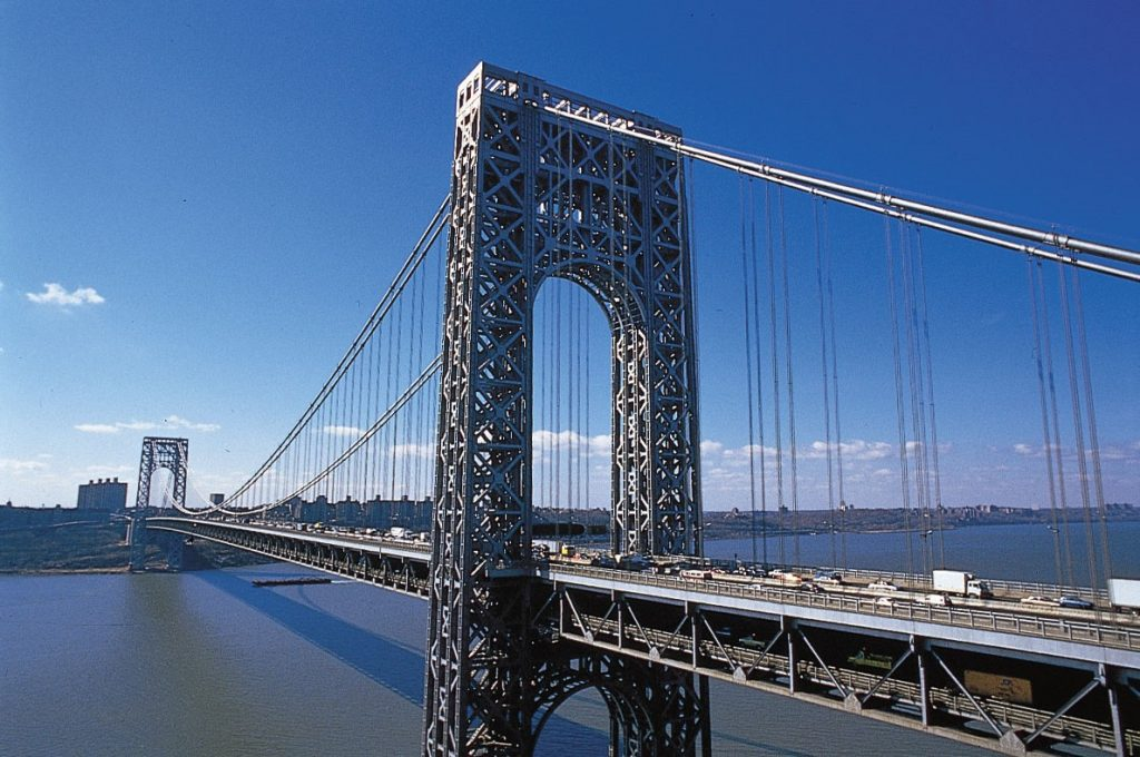 George Washington Bridge, USA   | 10 World's Most Expensive Bridges | Zestradar