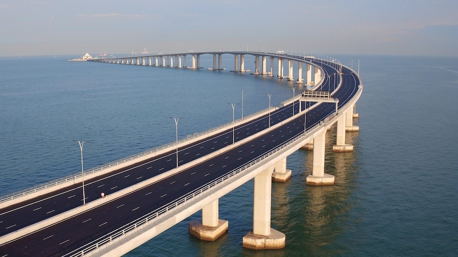 Hong Kong-Zhuhai-Macau Bridge, Hong Kong/China/Macau  | 10 World's Most Expensive Bridges | Zestradar