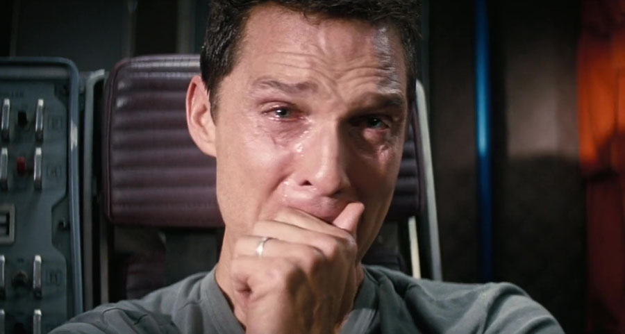 Interstellar – Cooper Watching His Kids' Videos | 10 Most Tear-Jerking Movie Scenes Ever Created | ZestRadar
