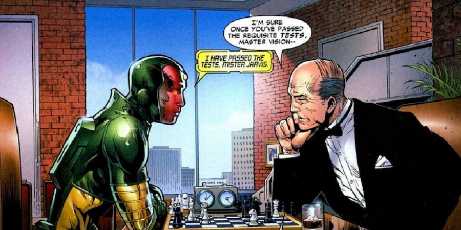Jarvis | 10 Comic Book Origins That Were Very Different In The Movies | Zestradar