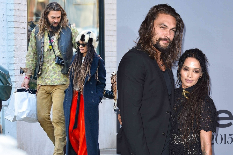 Jason Momoa and Lisa Bonet | 10 Celebrity Couples With The Biggest Height Difference | BrainBerries