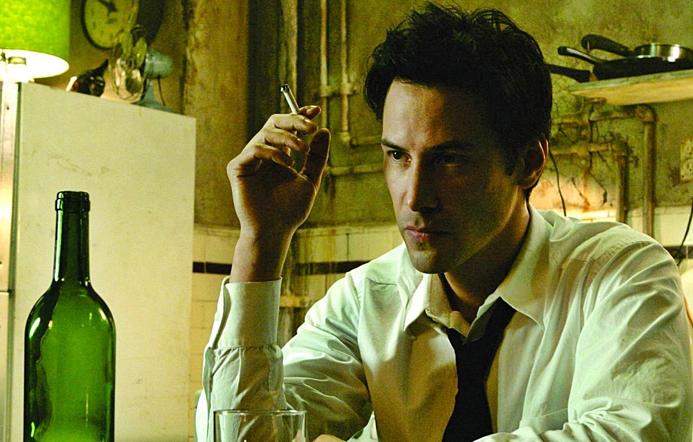 """Keanu Reeves in """"Constantine"""" 