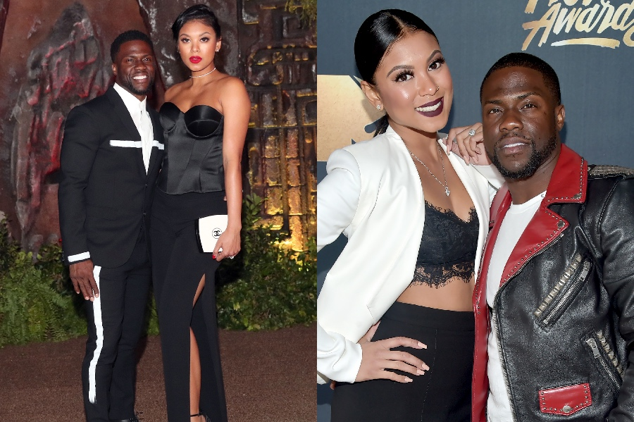 Kevin Hart and Eniko Parrish | 10 Celebrity Couples With The Biggest Height Difference | BrainBerries