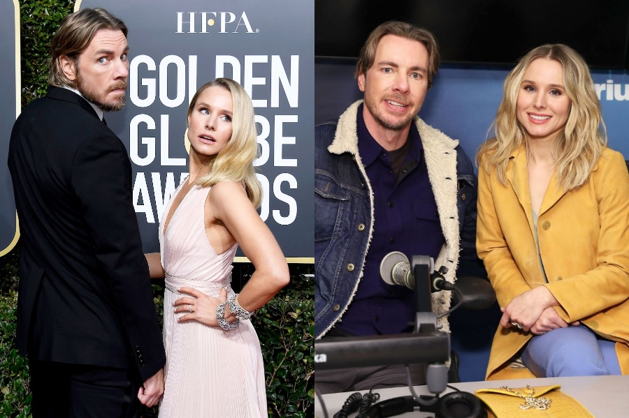 Kristen Bell and Dax Shepard| 10 Celebrity Couples With The Biggest Height Difference | BrainBerries