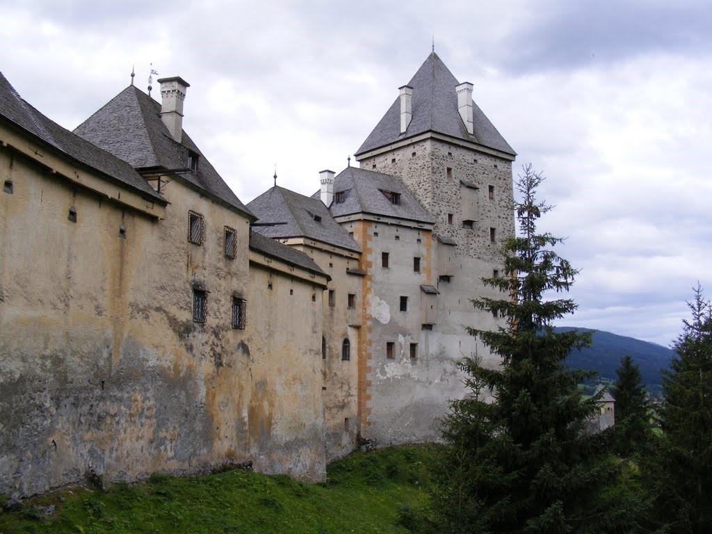 Moosham Castle, Austria | Top 9 Scariest Haunted Castles in Europe | Brain Berries