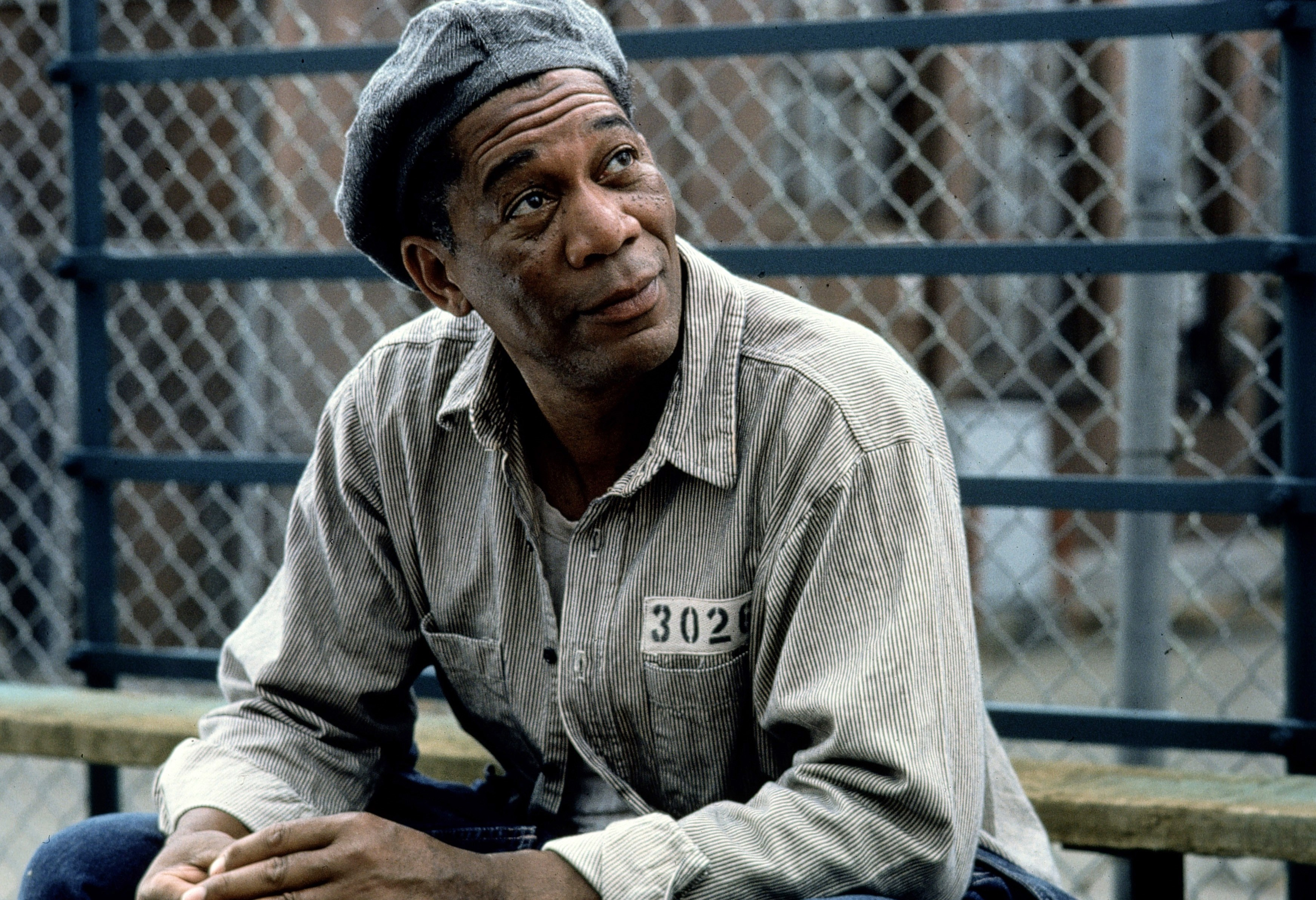 """Morgan Freeman in """"Shawshank Redemption"""" 