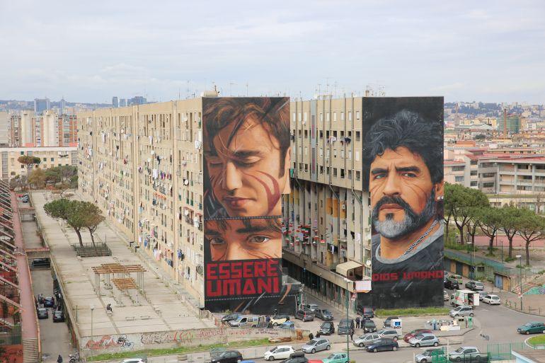 Napoli  | Street art ataliana: I murales che non puoi proprio perderti! | Brain Berries