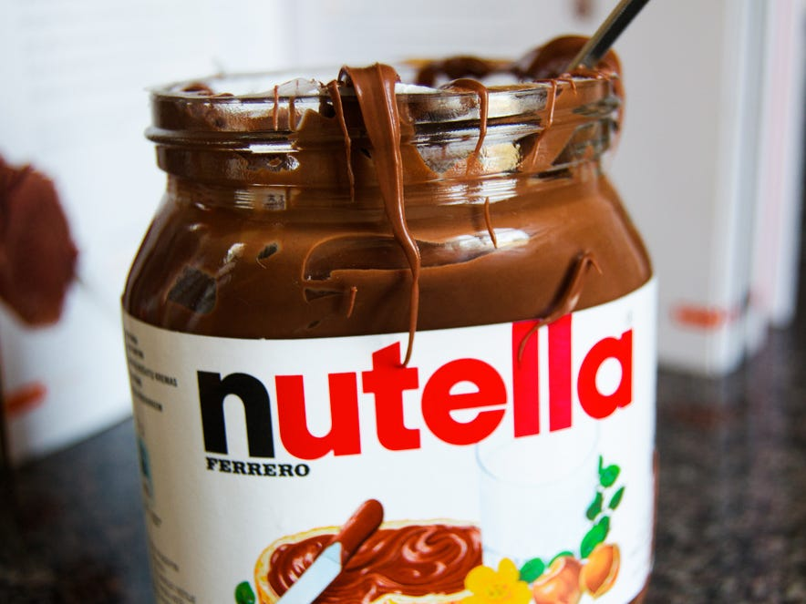 Nutella |10 alimenti che sono una garanzia per renderti felice | Brain Berries