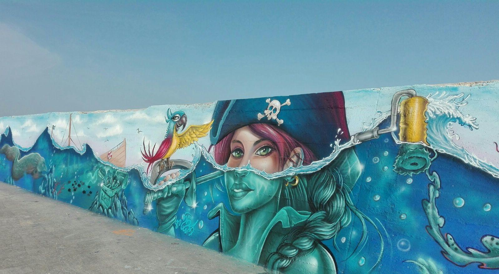 Porto di Torre Canne in Puglia | Street art ataliana: I murales che non puoi proprio perderti! | Brain Berries