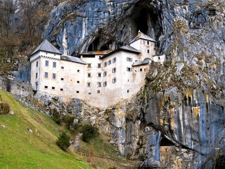 Predjama Castle, Slovenia | Top 9 Scariest Haunted Castles in Europe | Brain Berries