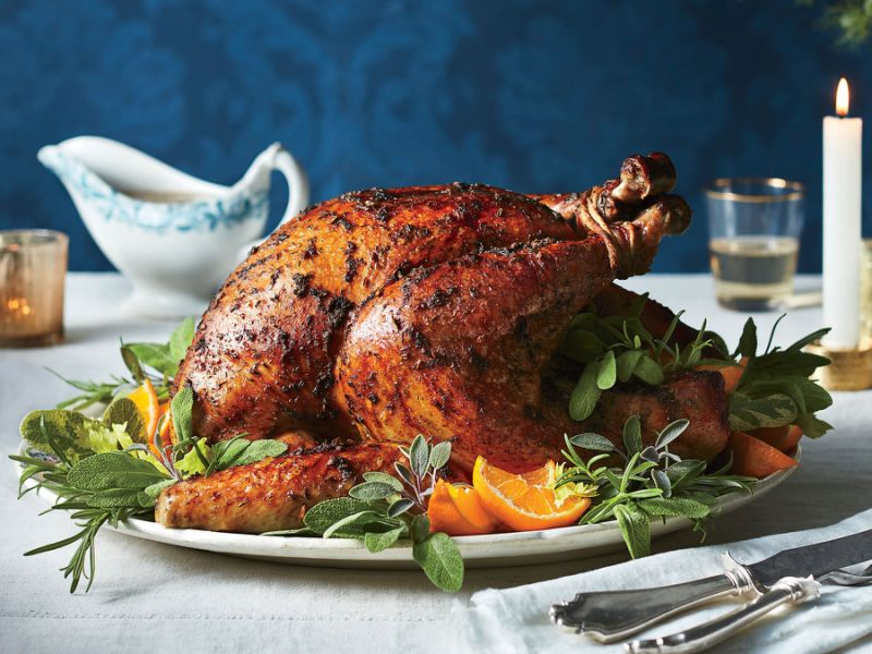 Butter-and-Herb Roast Turkey   Top 10 Thanksgiving Foods That Should Be On Your Table This Year   Zestradar