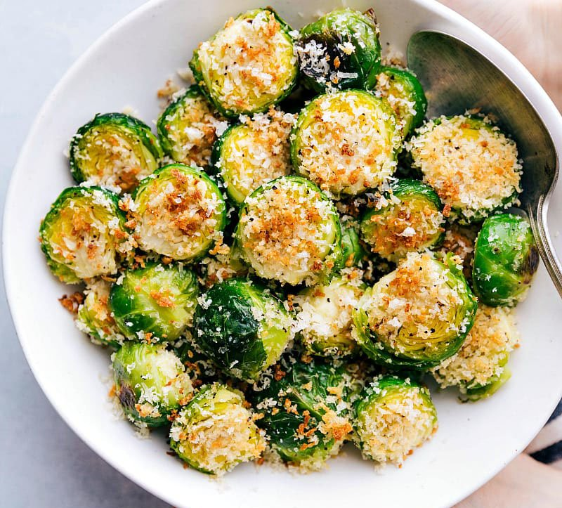 Roasted Brussels Sprouts    Top 10 Thanksgiving Foods That Should Be On Your Table This Year   Zestradar