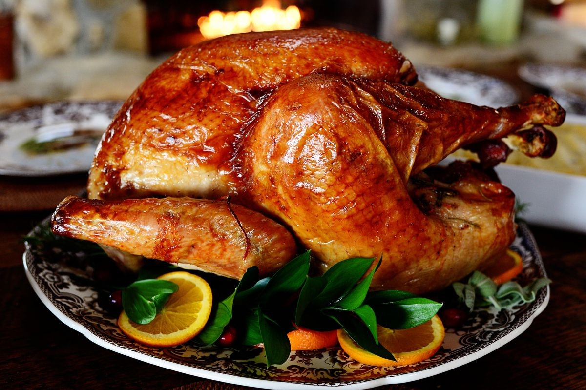 Roasted turkey   10 Foods That Are Guaranteed To Make You Happy   Brain Berries