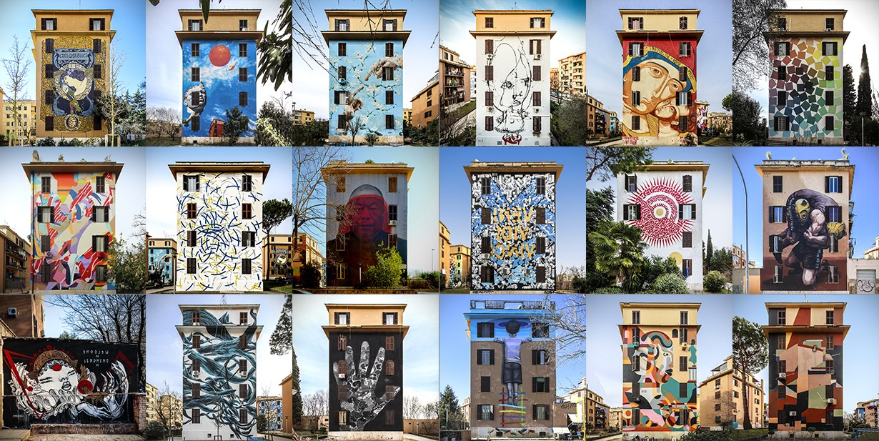 Roma | Street art ataliana: I murales che non puoi proprio perderti! | Brain Berries