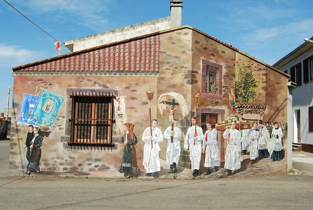 Sardegna | Street art ataliana: I murales che non puoi proprio perderti! | Brain Berries