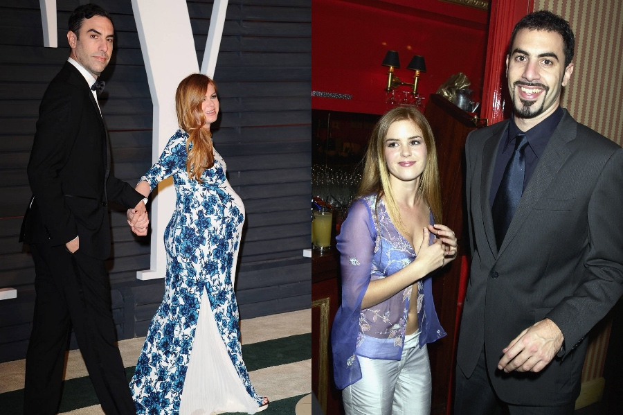 Sasha Baron Cohen and Isla Fisher | 10 Celebrity Couples With The Biggest Height Difference | BrainBerries