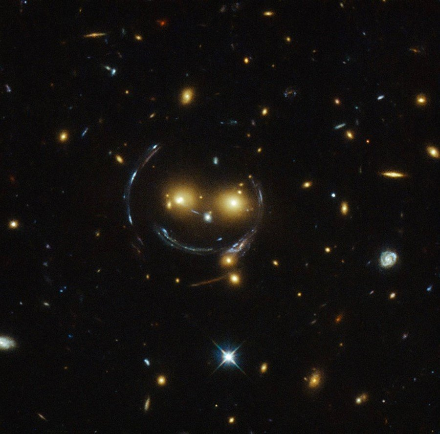 Smiley galaxy | 7 Weirdest Galaxies In The Universe | Brain Berries