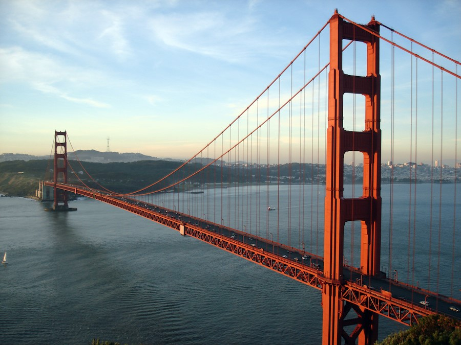 The Golden Gate Bridge, USA | 10 World's Most Expensive Bridges | Zestradar