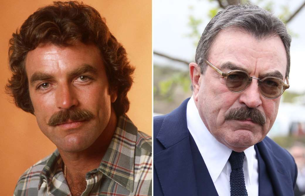 Tom Selleck | Top 8 Male Movie Icons of the 70s | Brain Berries
