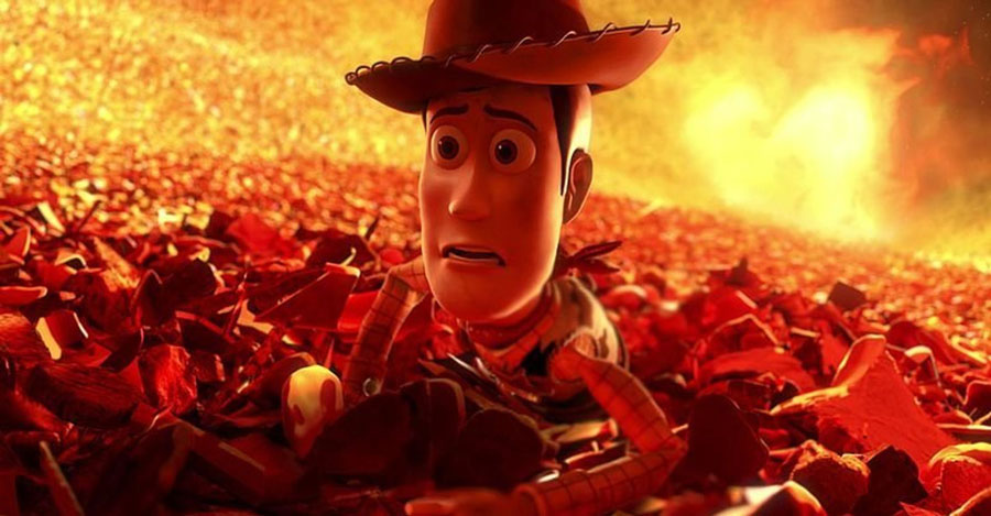 Toy Story 3 – The Furnace | 10 Most Tear-Jerking Movie Scenes Ever Created | ZestRadar