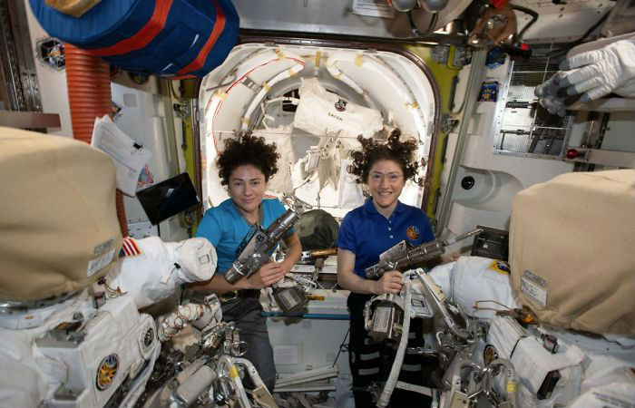 Meet Kristina Koch and  Jessica Meir | Two Women Make History By Performing The First Ever All-Female Space Walk | ZestRadar