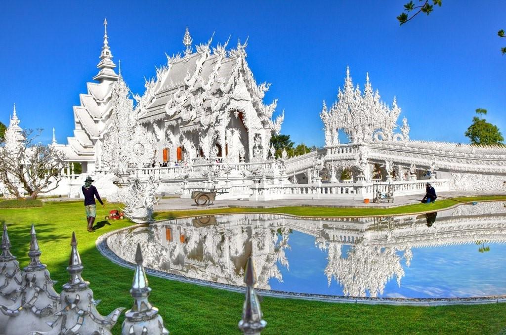 Wat Rong Khun | 7 kỳ quan kiến trúc độc đáo bậc nhất của Thái Lan | Brain Berries