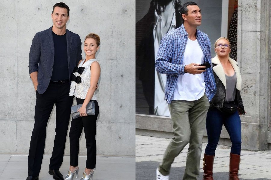 Wladimir Klitschko and Hayden Panettiere | 10 Celebrity Couples With The Biggest Height Difference | BrainBerries