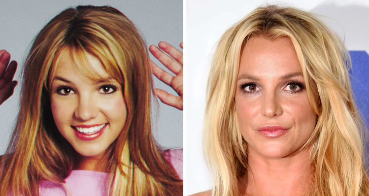 Britney Spears | Celebrities Who Have Drastically Changed Over The Years | Brain Berries