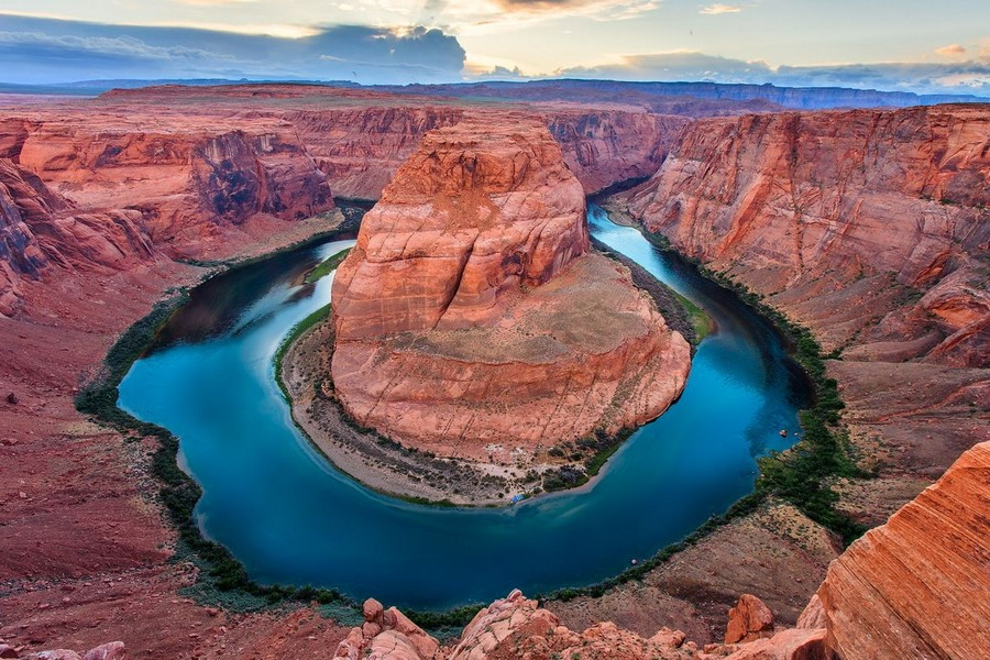 Хорсшу-Бенд или каньон Подкова | Топ-10 самых удивительных пейзажей США | Brain Berries