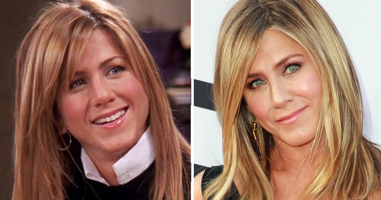Jennifer Aniston | Celebrities Who Have Drastically Changed Over The Years | Brain Berries
