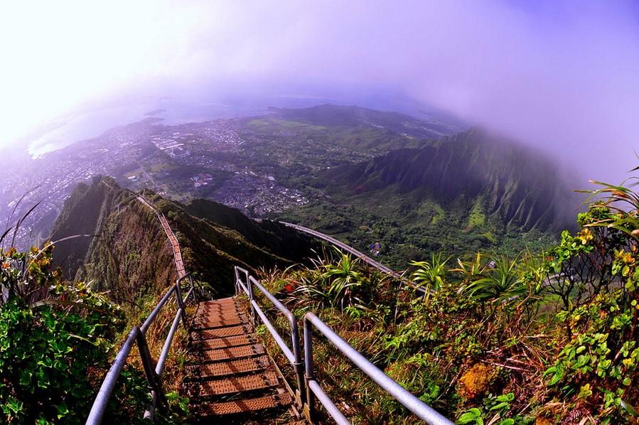 Лестница Хайку  | Топ-10 самых удивительных пейзажей США | Brain Berries